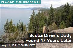 Scuba Diver's Body Found 17 Years Later