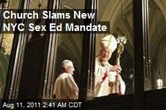 Church Slams New NYC Sex Ed Mandate