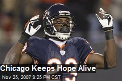 Chicago Keeps Hope Alive