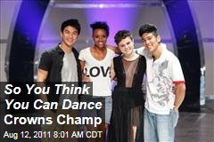 'So You Think You Can Dance' Winner: Melanie Moore Wins Eighth Season