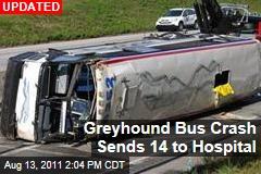 Bus Flips on Pa. Turnpike, Dozens Injured