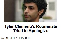 Tyler Clementi's Roommate Tried to Apologize