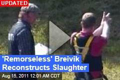 Anders Behring Breivik Utoya Island: Cops Bring Accused Shooter Back to Scene of Crime