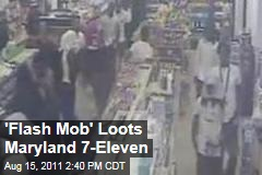 'Flash Mob' Loots Maryland 7-Eleven