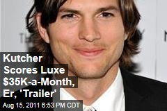 Ashton Kutcher's Two-Story Trailer for 'Two And A Half Men'