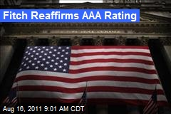 Fitch Reaffirms AAA Rating