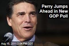Rick Perry Leads GOP Rasmussen Poll; Mitt Romney, Michele Bachmann Trail