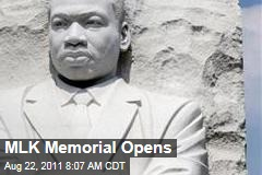 Martin Luther King Jr. Memorial Opens on Washington DC National Mall Today