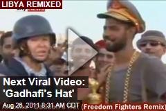 'Zenga Zenga' Creator Noy Alooshe Creates Libyan Rebel Remix 'Gadhafi's Hat'