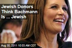Jewish Voters Think Michele Bachmann Is ... Jewish