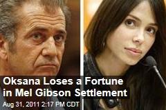 Mel Gibson Must Pay Oksana Grigorieva $750,000 to Settle Custody Case