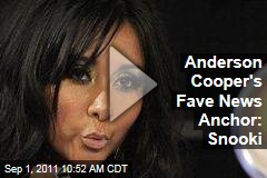VIDEO: Anderson Cooper Loves News Anchor Snooki