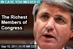 Congress' Richest Inclue Michael McCaul, Darrell Issa, John Kerry