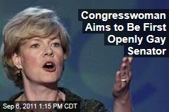Rep. Tammy Baldwin of Wisconsin Will Try to Become First Openly Gay Senator