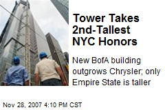 Tower Takes 2nd-Tallest NYC Honors