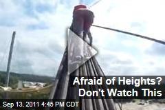 Teens Climb Bridge in Kiev, Ukraine in Head-Spinning Video