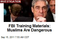 FBI Training Manuals: Muslims Are Dangerous