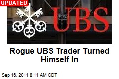 Rogue UBS Trader Turned Himself In
