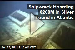 Shipwreck Hoarding $200M in Silver Found in Atlantic