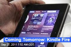 Amazon.com to Announce Kindle Fire Tablet Tomorrow: TechCrunch