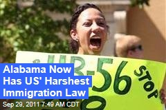 Alabama Illegal Immigration Law: Portions Go Take Effect Today After Judge's Ruling