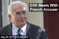 Dominique Strauss-Kahn, French Accuser Tristane Banon Meet With Investigators