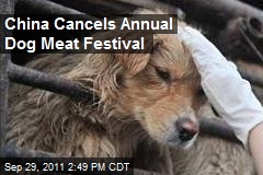 China Cancels Annual Dog Meat Festival