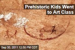 Cave Art: Did Hunter-Gatherer Kids Go to School?
