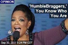 Humblebragging