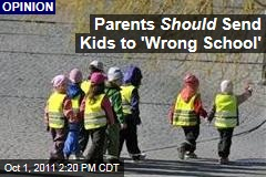 Minority Parents Justified in Sending Children to Out-of-District Schools