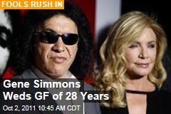 Gene Simmons Wedding: KISS Rocker Marries Shannon Tweed, Girlfriend of 28 Years