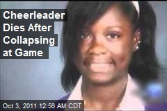Cheerleader Dies After Collapse at Game