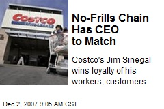 No-Frills Chain Has CEO to Match