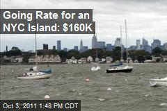 Going Rate for an NYC Island: $160K