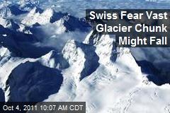 Swiss Fear Vast Glacier Chunk Might Fall
