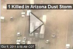 1 Killed in Arizona Dust Storm