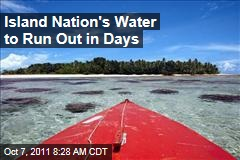 As Tuvalu and Tokelau Struggle with Drought, Australia and New Zealand Bring Aid