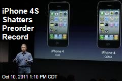 Apple: iPhone 4S Shatters Preorder Record