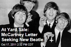 Paul McCartney Letter Sought New Beatle in 1960