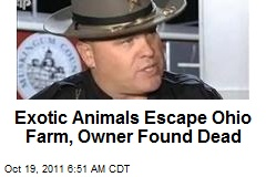 25 Exotic Animals Killed After Escaping Ohio Farm