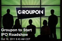 Groupon to Start IPO Roadshow