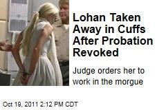Judge Revokes Lindsay Lohan's Probation, Will Decide Her Fate at November Hearing
