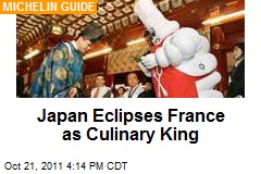 Japan Eclipses France as Culinary King