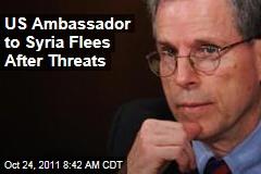 US Ambassador to Syria Robert Ford Flees After Threats