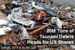 20M Tons of Tsunami Debris Heads for US Shores
