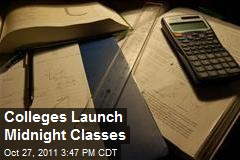 Colleges Launch Midnight Classes