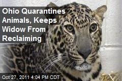 Ohio Quarantines Animals, Keeps Widow From Reclaiming