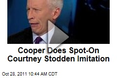 VIDEO: Anderson Cooper Impersonates Child Bride Courtney Stodden