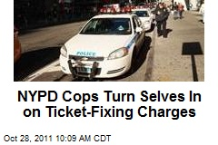 NYPD Cops Turn Selves In on Ticket-Fixing Charges