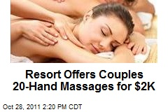 Hawaii Resort Offers Couples 20-Hand Massages for $2K
